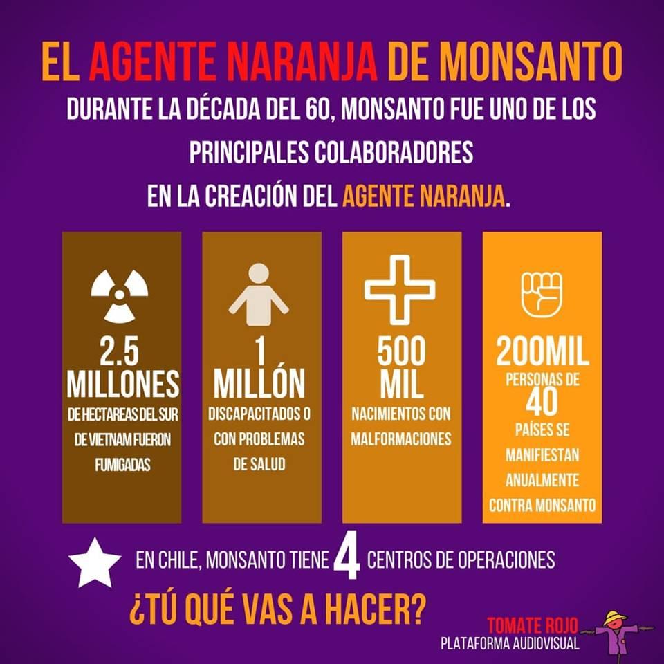 39409262 292242254696998 7010889101121421312 n - Los efectos del Agente Naranja de Monsanto
