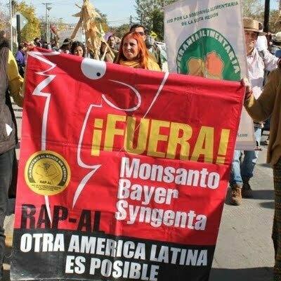 Marcha mundial contra Monsanto 2018
