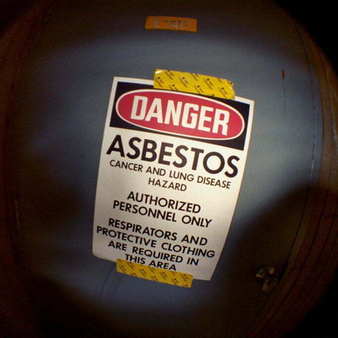 Contaminación por asbesto
