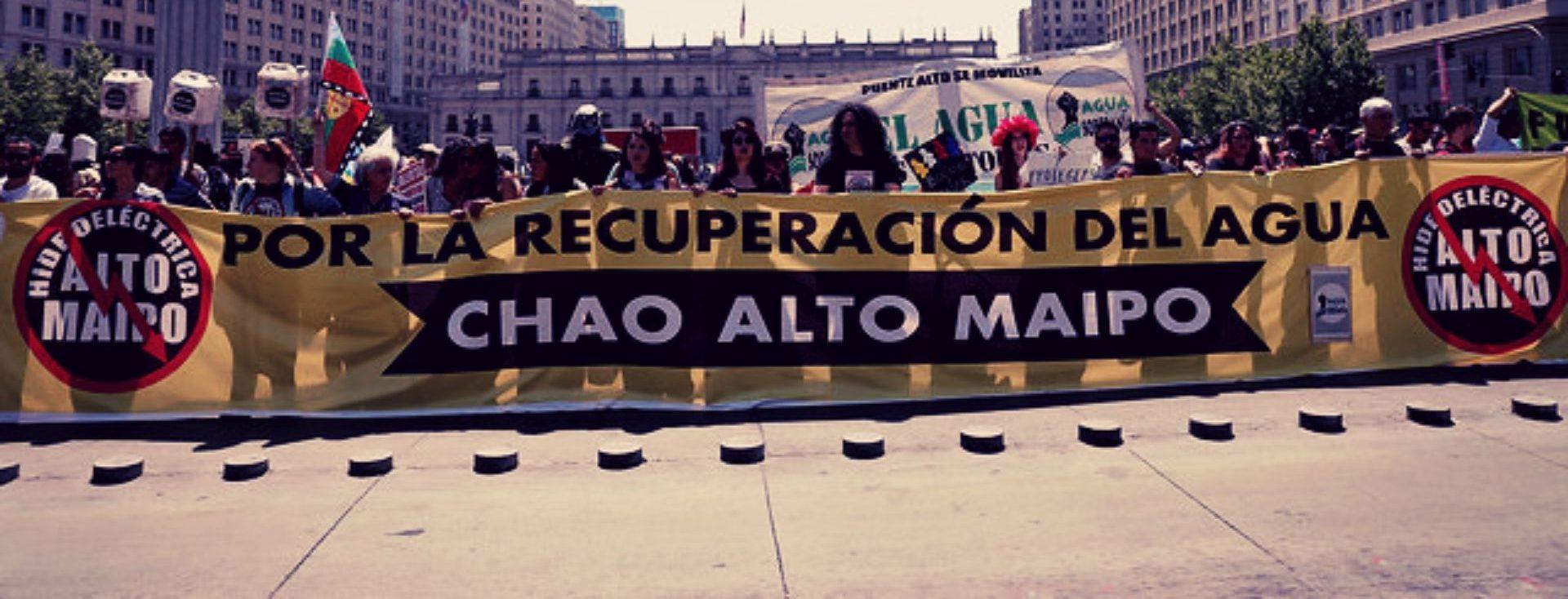 Photo of Piden detener obras de Alto Maipo hasta tener resultados sobre daño al río