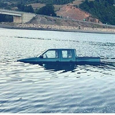 La camioneta de Marcelo Vega fue encontrada flotando a la mitad