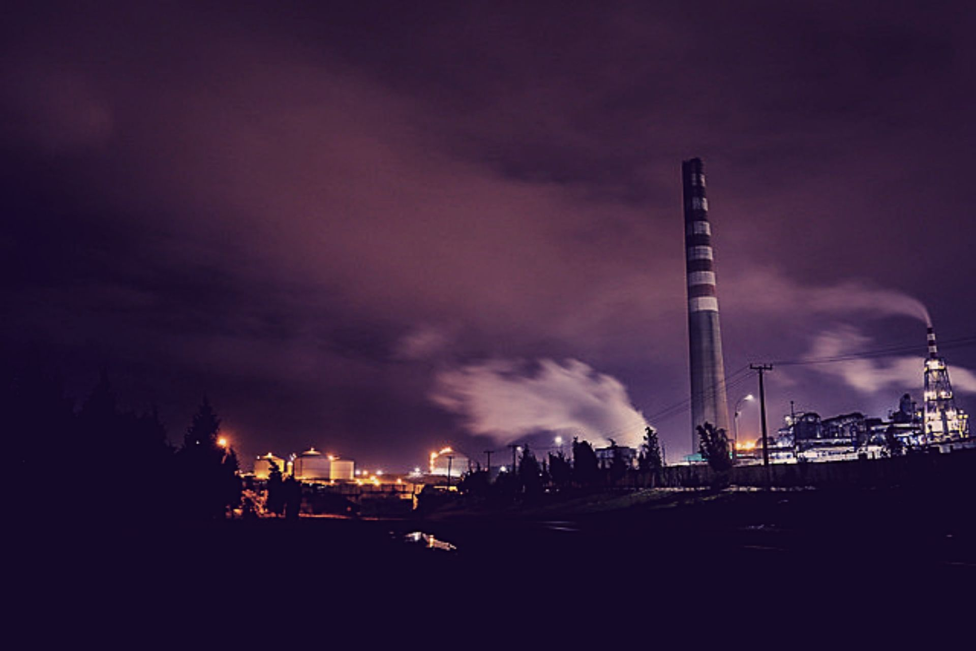 """nube toxica quintero agencia uno tomate rojo 80x80 - Vecinos denuncian """"pluma"""" de contaminación en Quintero y críticos niveles del aire"""