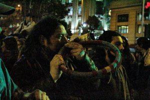 Movilización contra el TPP11 - Santiago