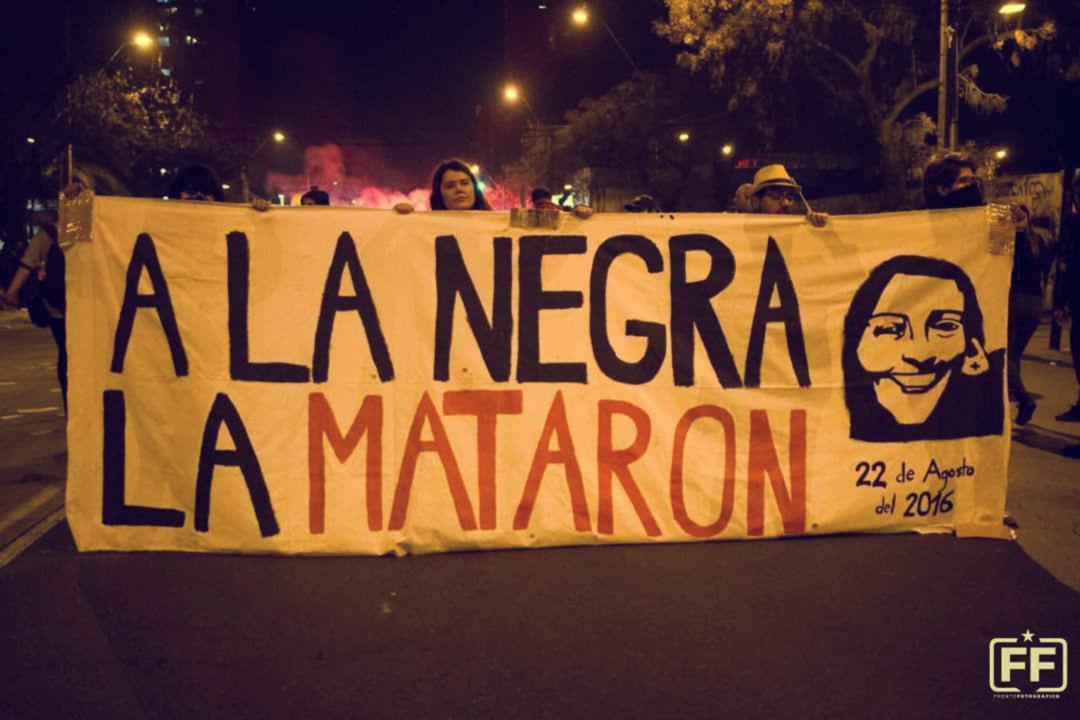 aniversario muerte macarena valdes forest 183x96 - Dura represión policial en tercer aniversario de la muerte de Macarena Valdés