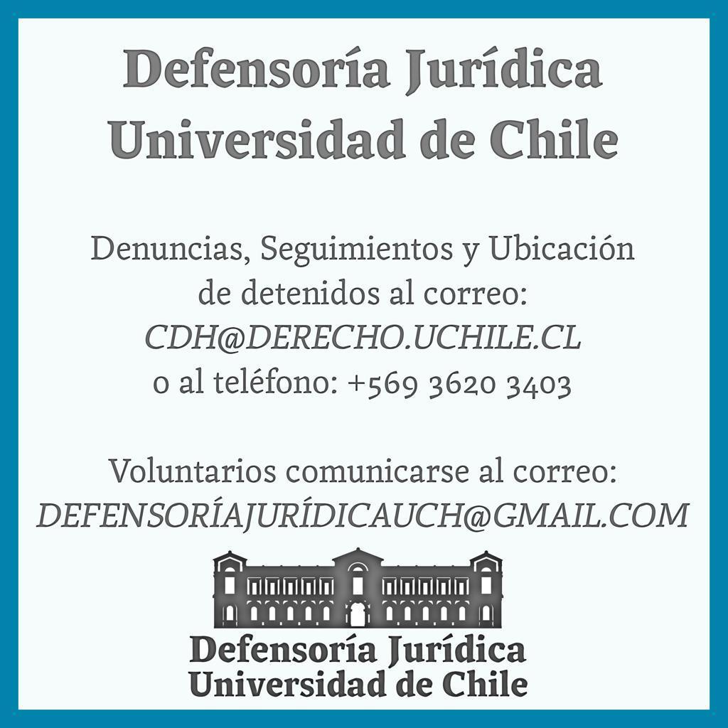 Defensoría Jurídica UCH
