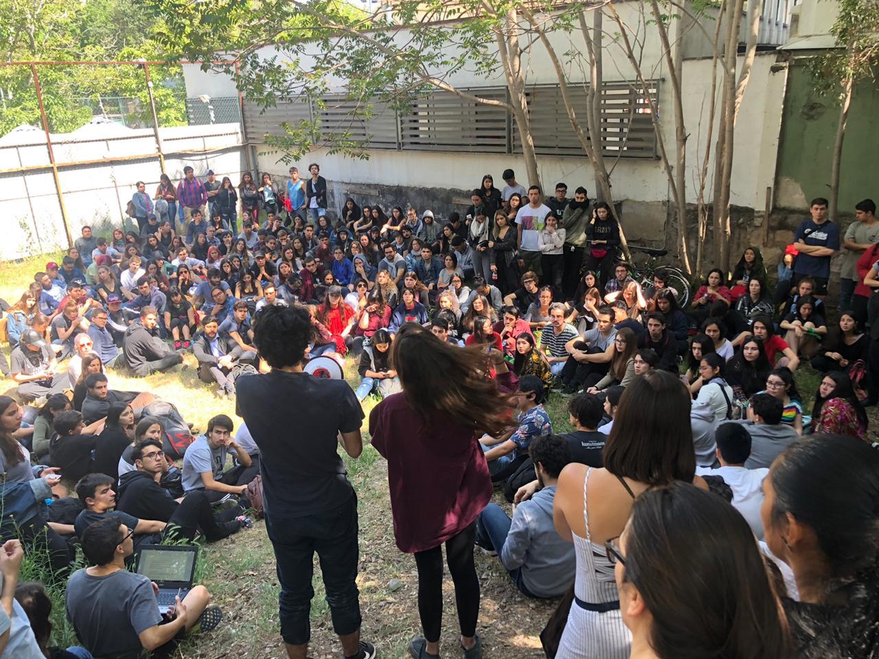 Estudiantes de Derecho U Chile