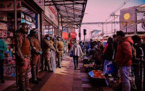 Hortaliceras Mapuche y carabineros de Chile