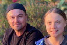 Leonardo DiCaprio y Greta Thunberg / Instagram