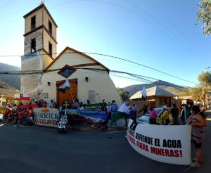 Comunidades contra Pascua Lama