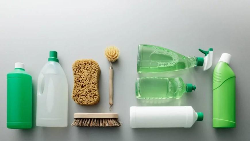 Productos Básicos para la limpieza ecológica del hogar.