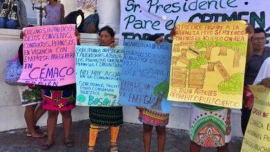 Protesta Emberá. (Imagen de Radio Temblor)