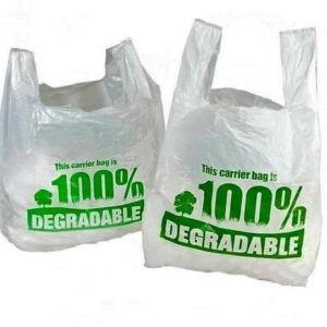 Bolsa de plástico biodegradable