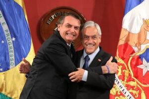 Bolsonaro y Piñera | Plaguicidas cancerígenos incluidos en su tratado comercial