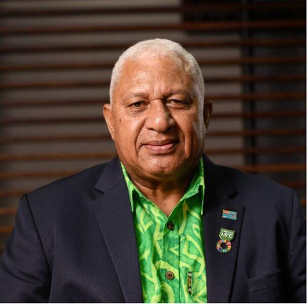 Frank Bainimarama - Campeones de la Tierra