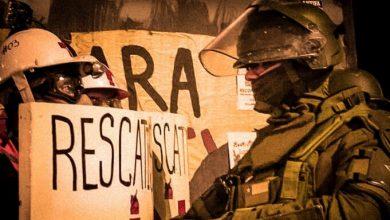 detenido de la revuelta