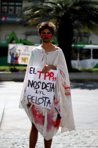 Manifestaciones contra el TPP 11 / qué es el TPP 11