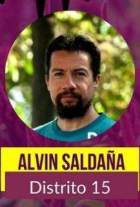 Alvin Saldaña Distrito 15