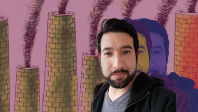 Hernán Flores, imagen verde