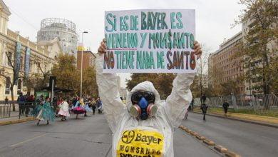 Oposición a la aprobación del TPP-11 en Chile